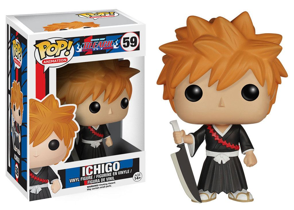 Bleach POP! Animation Vinyl Figure Ichigo 9 cm