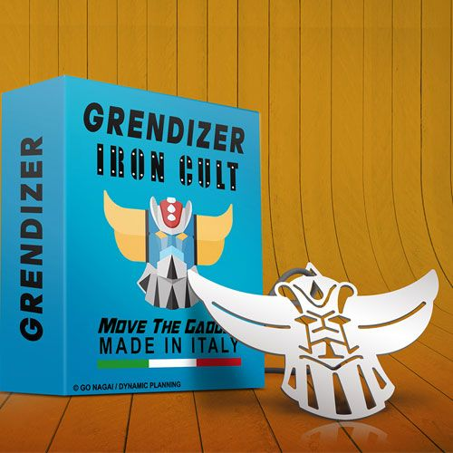 UFO Robot Grendizer Iron Cult Pendant Goldrake