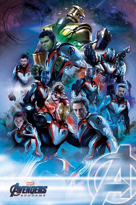 Avengers: Endgame Poster Pack Quantum Realm Suits 61 x 91 cm (5)