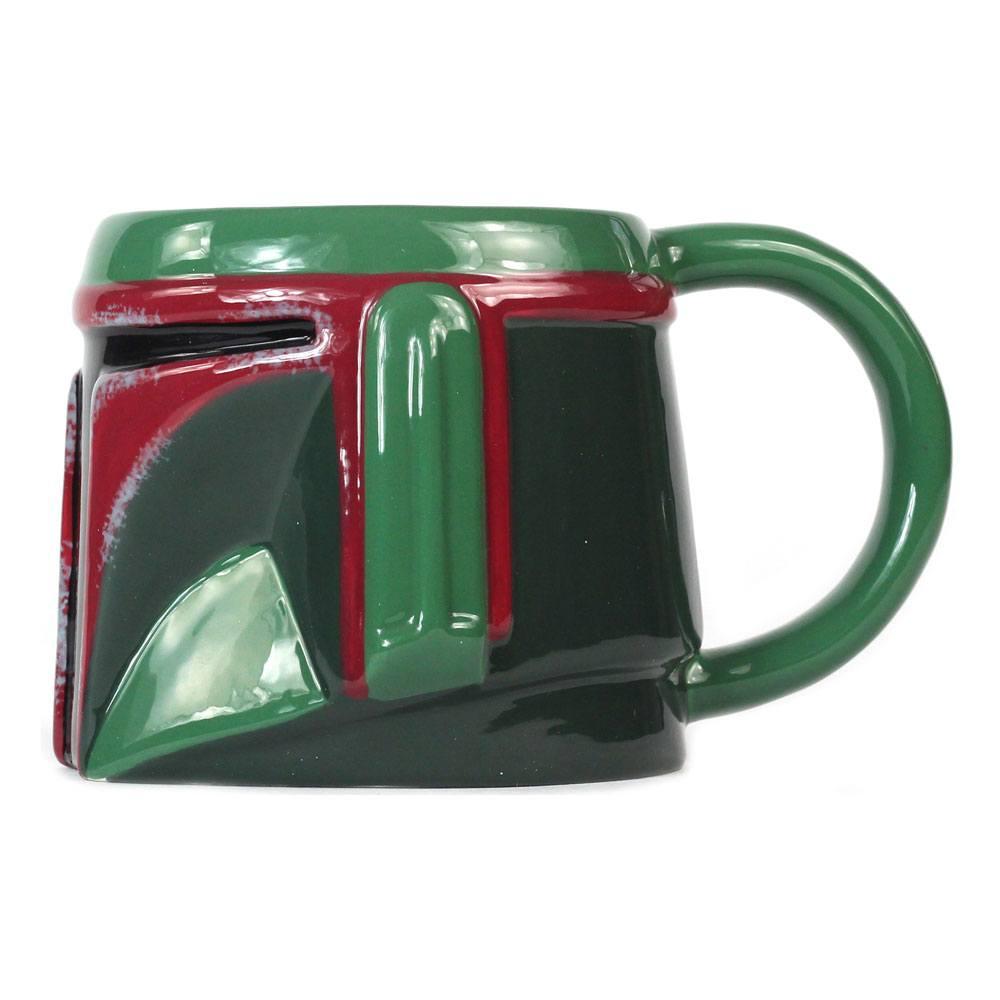 Star Wars Shaped Mug Boba Fett