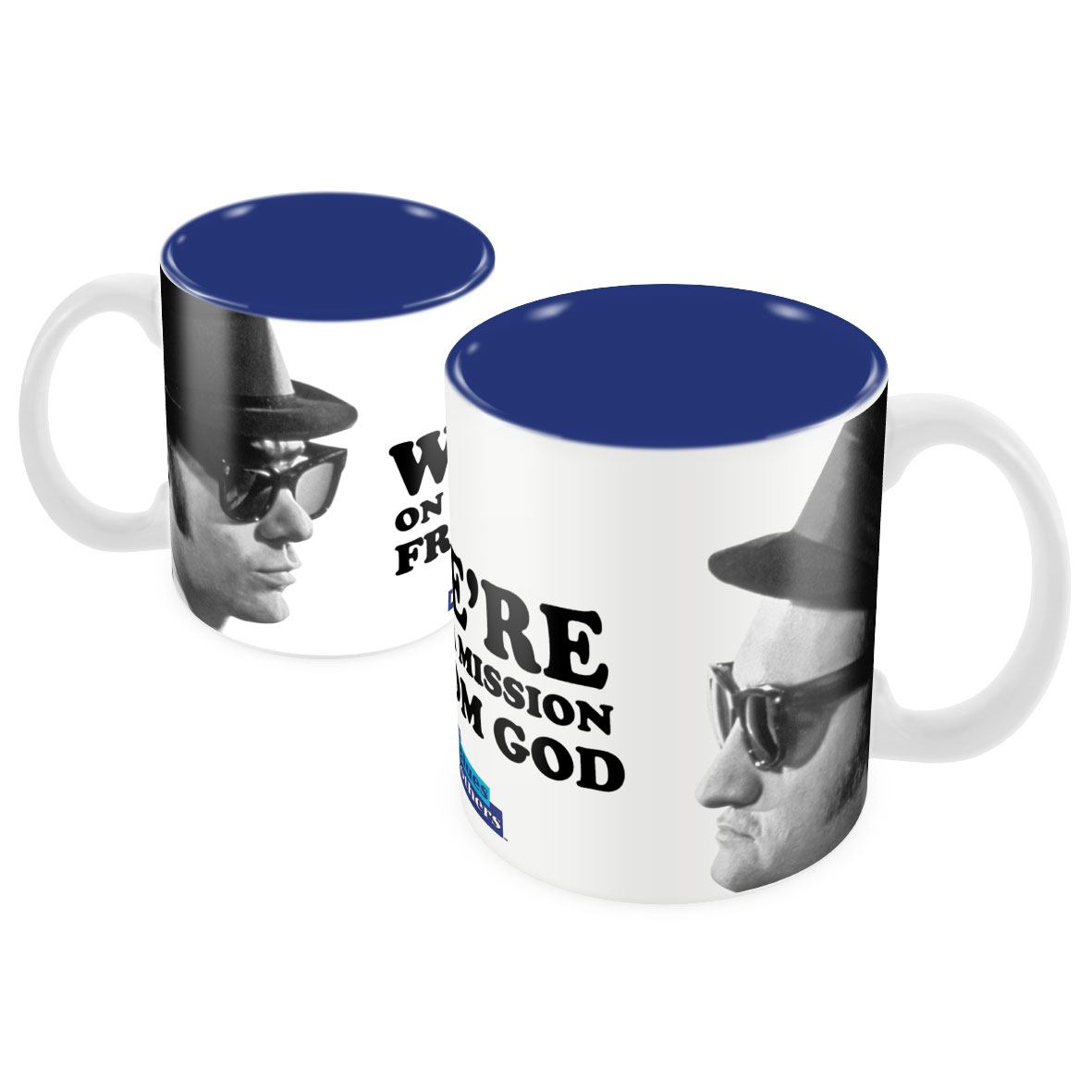 Blues Brothers Mug Face Off