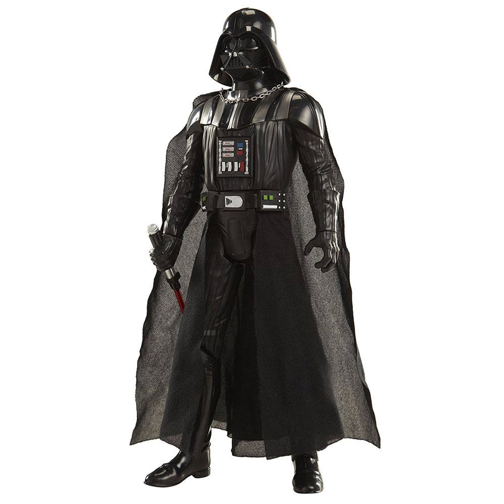 Star Wars Big Figs Deluxe Action Figure Darth Vader with Lightsaber 50 cm Case (4)