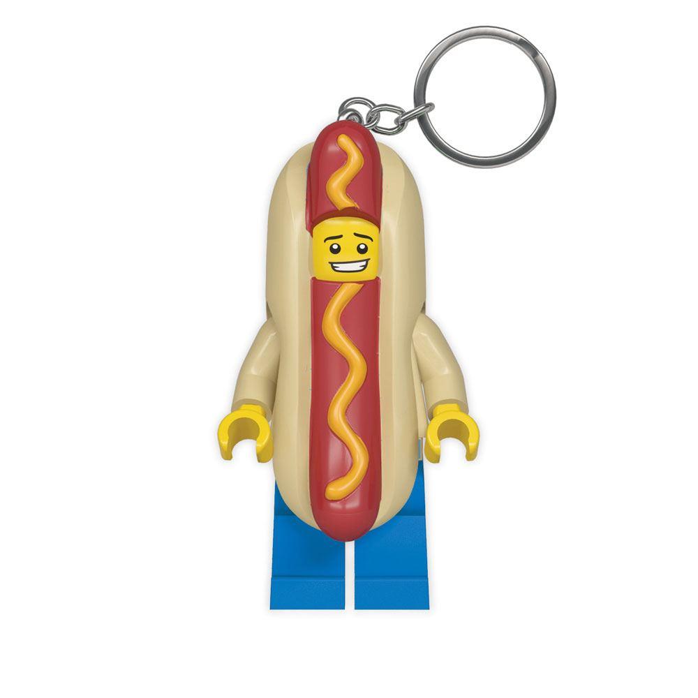 LEGO Classic Light-Up Keychain Hot Dog 8 cm