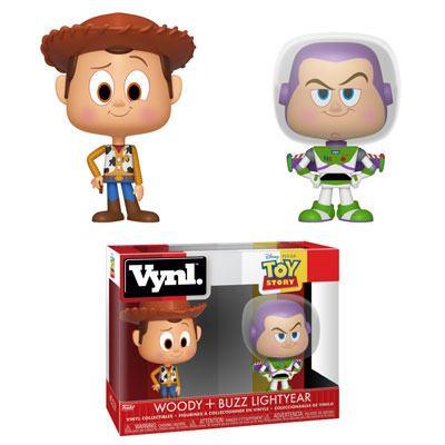 Toy Story VYNL Vinyl Figures 2-Pack Woody & Buzz 10 cm