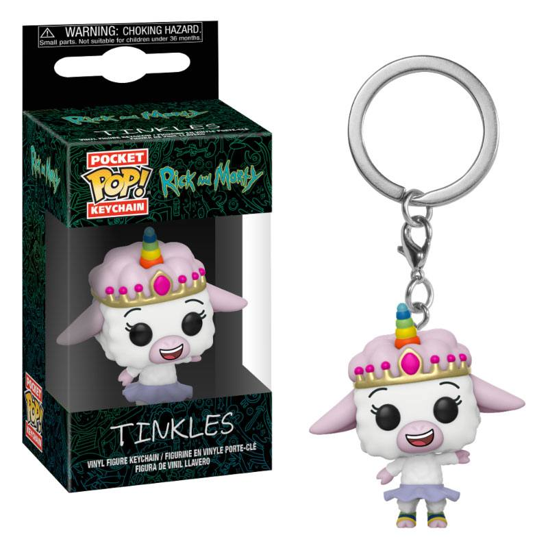 Rick and Morty Pocket POP! Vinyl Keychain Tinkles 4 cm