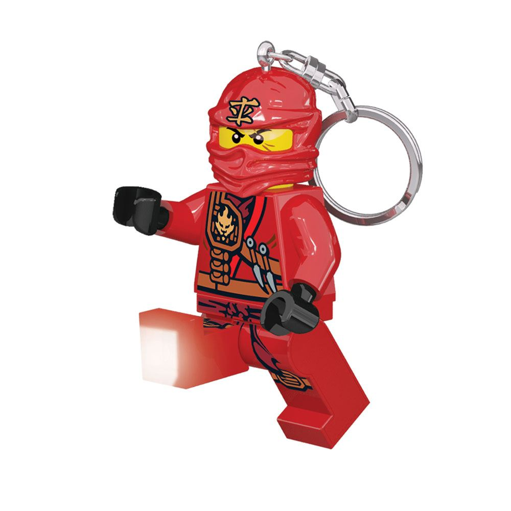 Lego Ninjago Mini-Flashlight with Keychains Kai