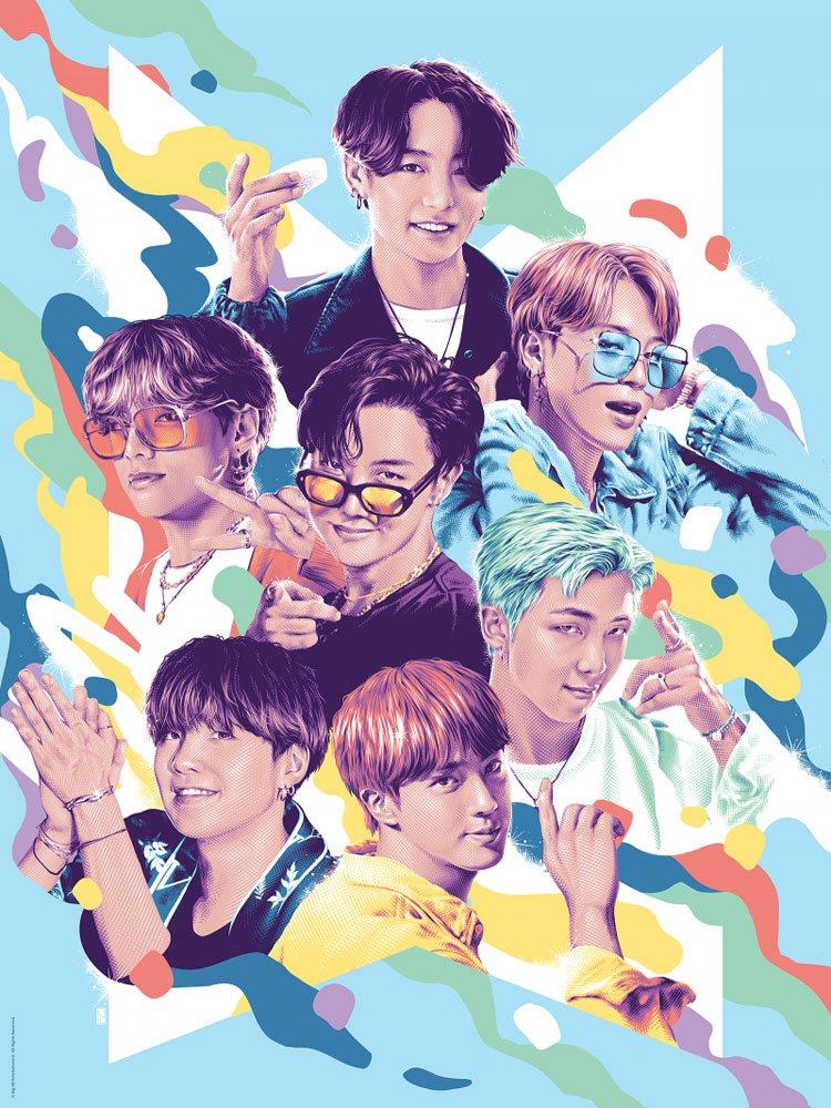 BTS Fine Art Print Dynamite 46 x 61 cm - unframed