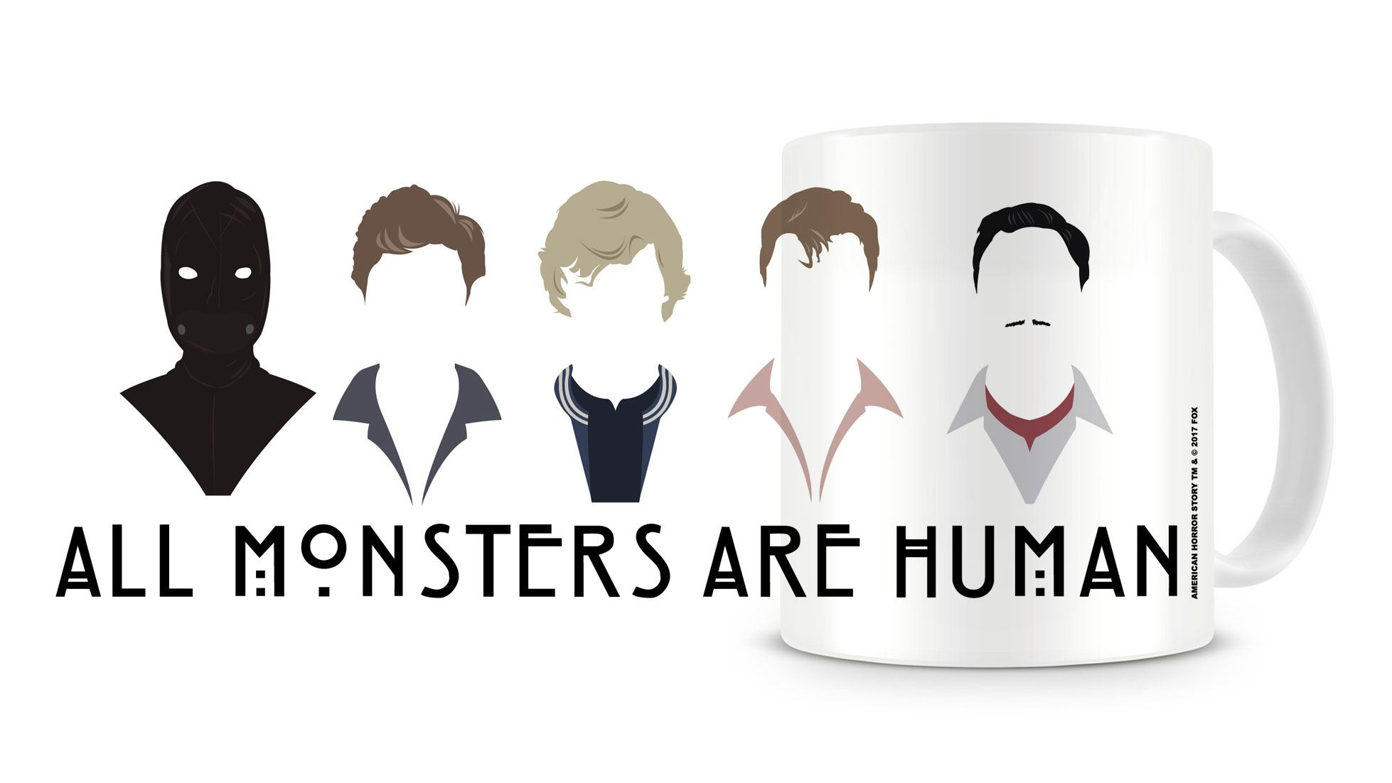 American Horror Story Mug All Monster Are Human