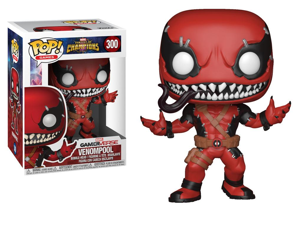 Marvel Contest of Champions POP! Games Vinyl Figure Venompool 9 cm