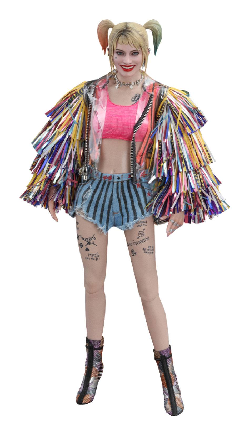 Birds of Prey Movie Masterpiece Action Figure 1/6 Harley Quinn (Caution Tape Jacket Version) 29 cm