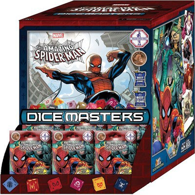 Marvel Comics Dice Masters Amazing Spider-Man Booster Display (90) *English Version*
