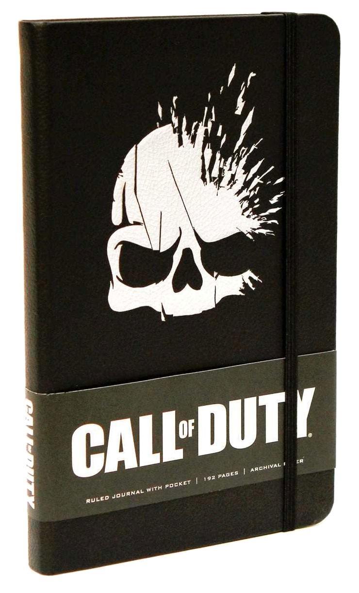 Call of Duty Hardcover Ruled Journal Skull
