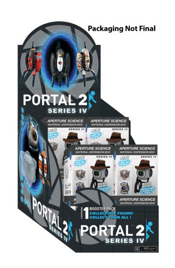 Portal 2 Mini Figures Booster Packs Series 4 Display (12)