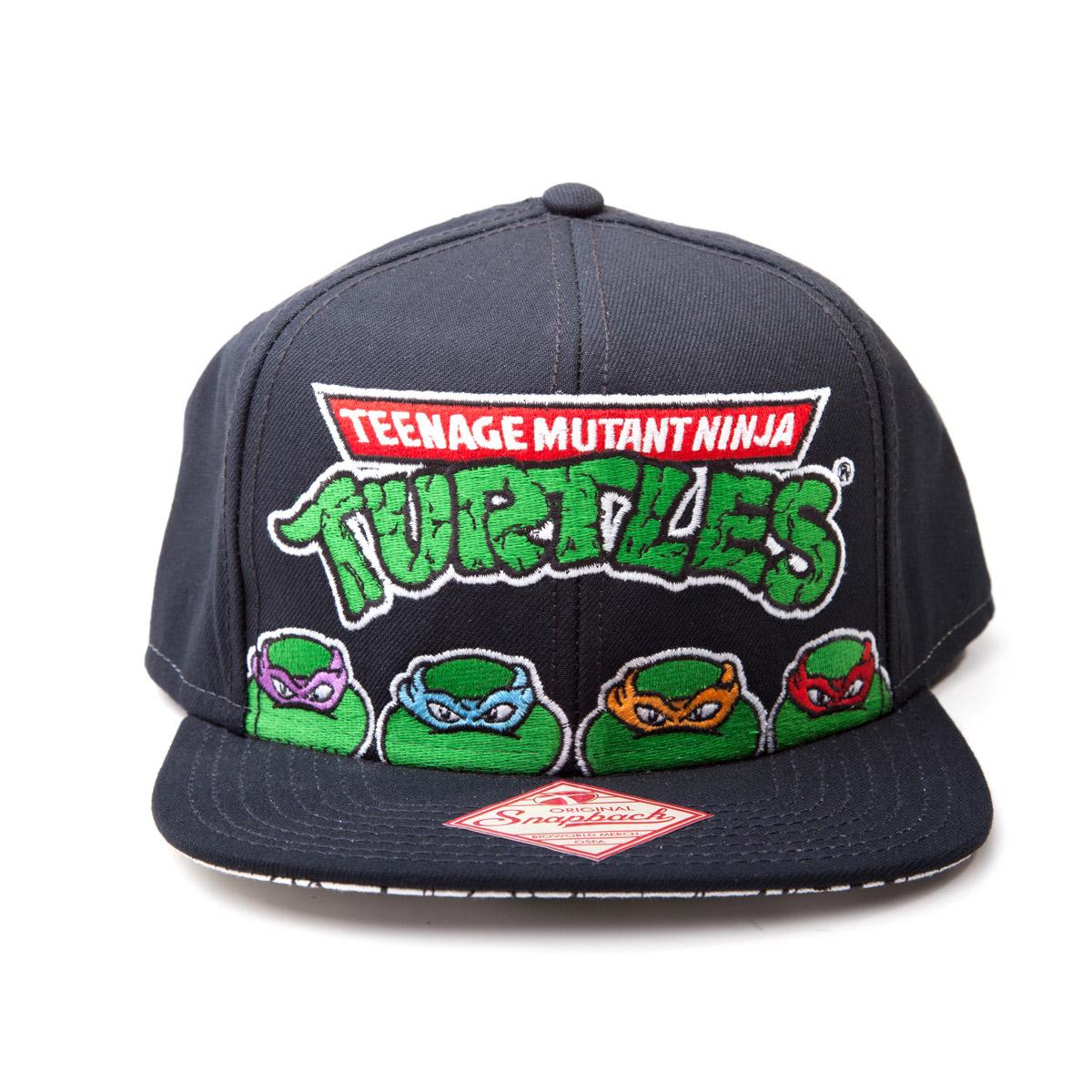 Teenage Mutant Ninja Turtles Snap Back Baseball Cap 4 Turtles