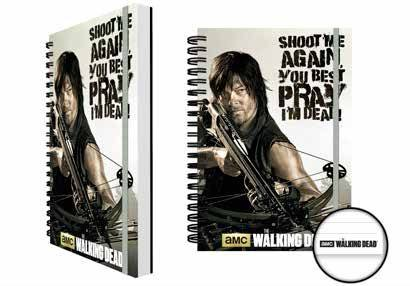 Walking Dead Notebook A5 Crossbow Case (12)