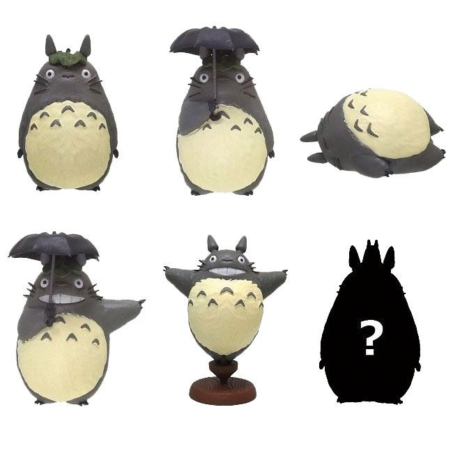 My Neighbor Totoro So Many Poses Collection Mini Figures Totoro 6 cm Assortment (6)