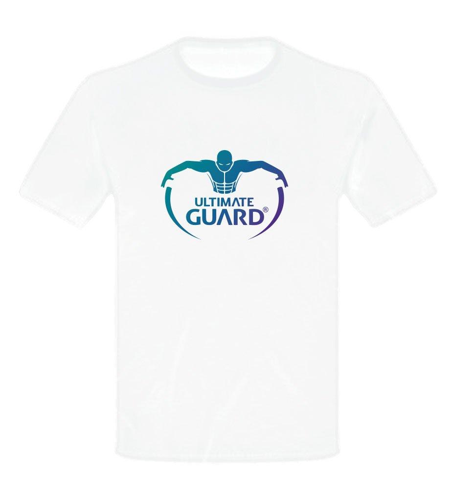 Ultimate Guard T-Shirt Logo White Size XXL