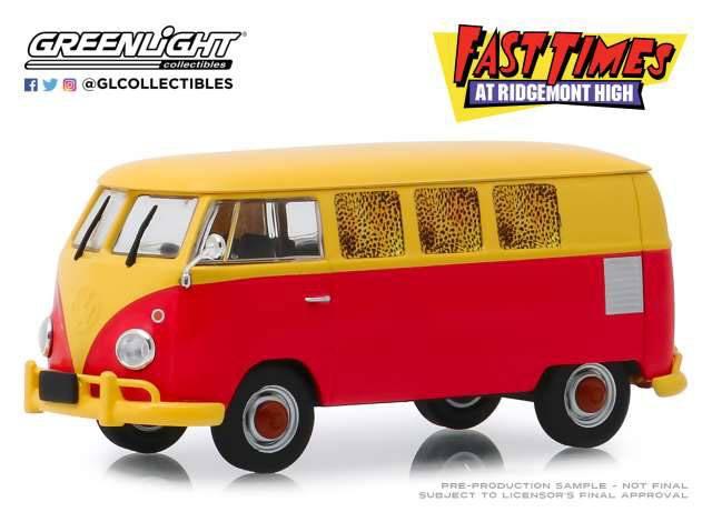 Fast Times at Ridgemont High Diecast Model 1/43 1967 Volkswagen Type 2 T1 Station Wagon