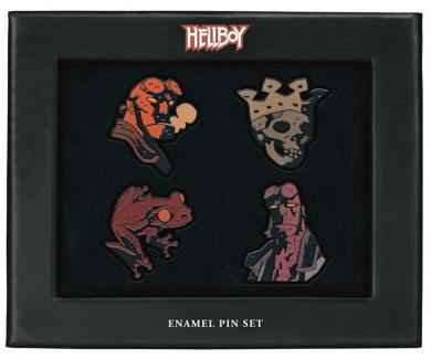 Hellboy Pin Badges 4-Pack