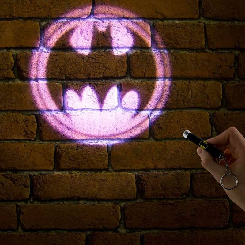 DC Comics Keychain Torch Batman Signal Pink