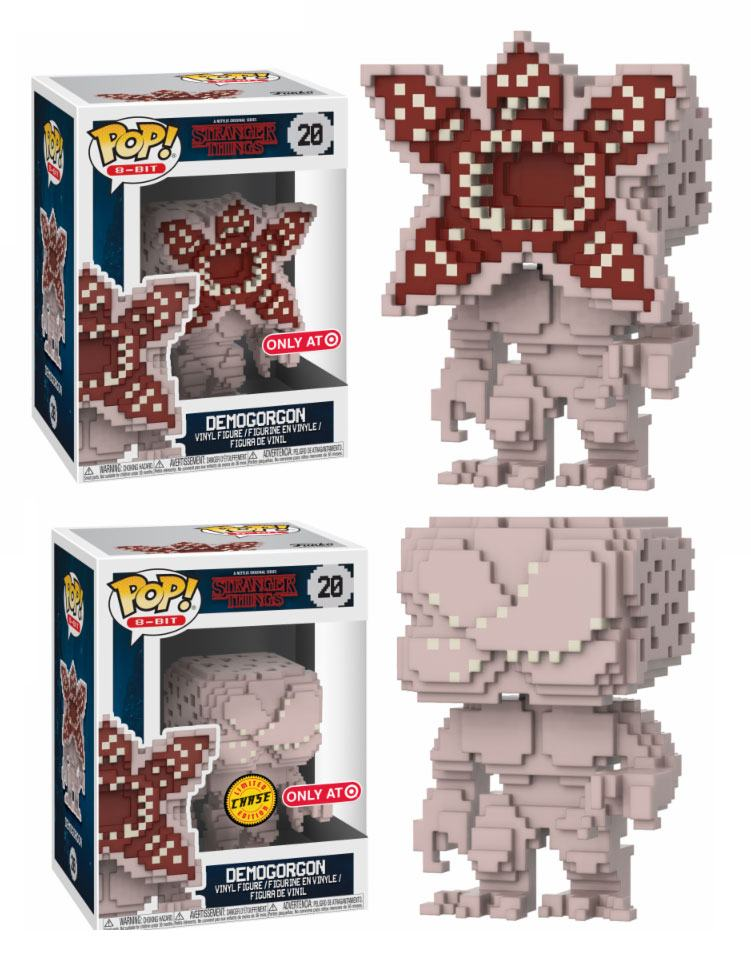 Stranger Things POP! 8-Bit Vinyl Figures Demogorgon 9 cm Assortment (6)