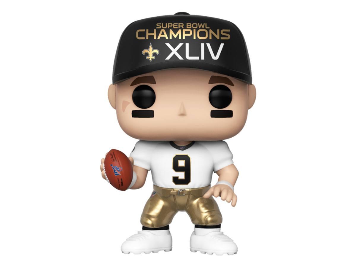 NFL POP! Sports Vinyl Figure Drew Brees (SB Champions XLIV) 9 cm
