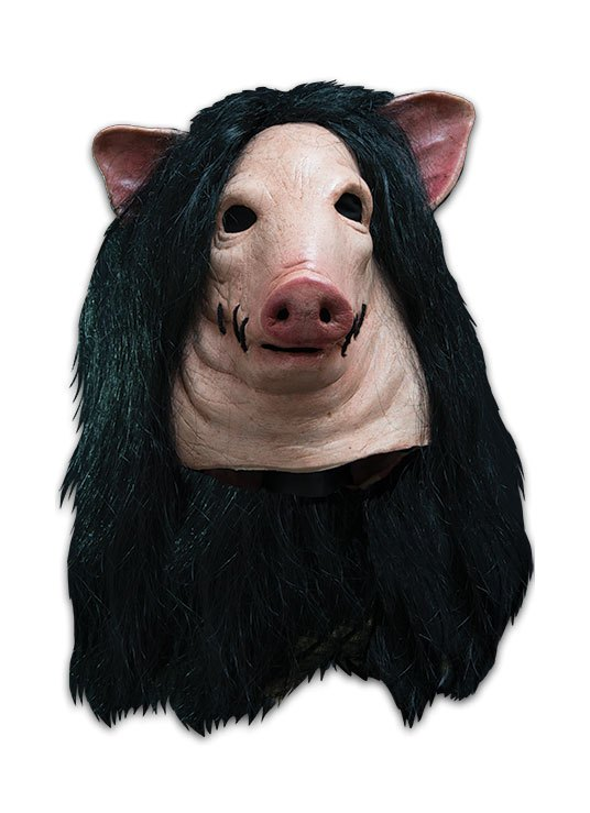 Saw Latex Mask Pig