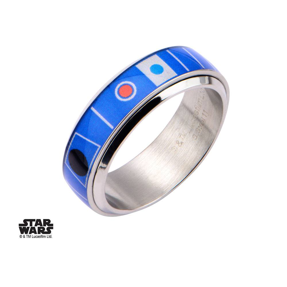 Star Wars Spinner Ring R2-D2 Size 11