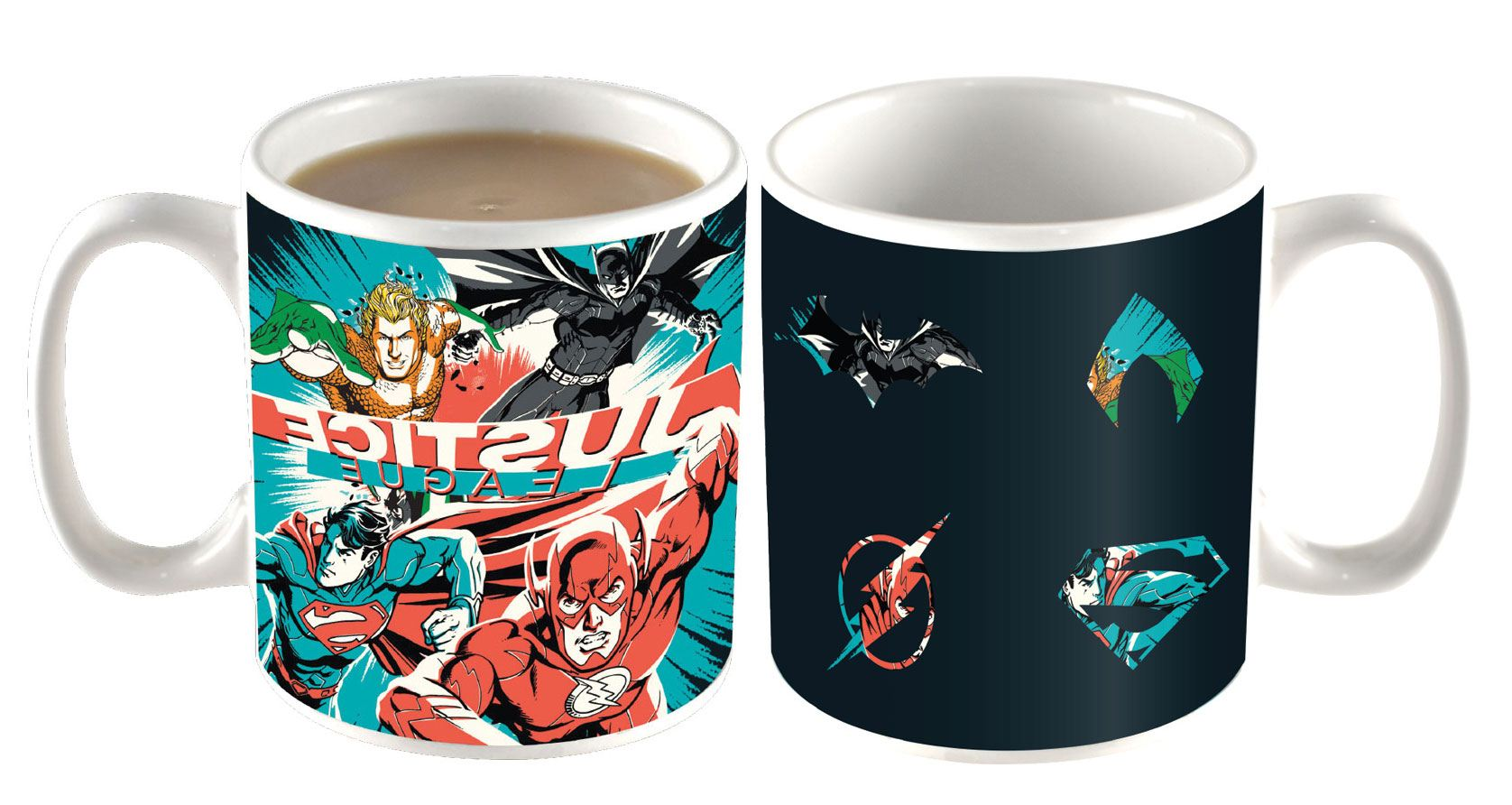 DC Comics Heat Change Mug Justice League