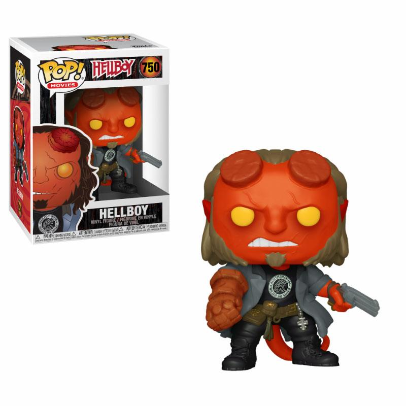 Hellboy POP! Movies Vinyl Figure Hellboy with BPRD Tee 9 cm