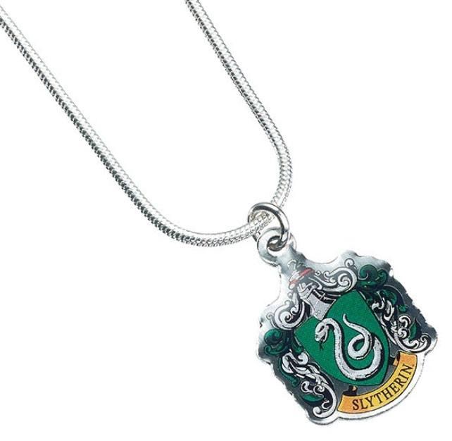 Harry Potter Pendant & Necklace Slytherin (silver plated)