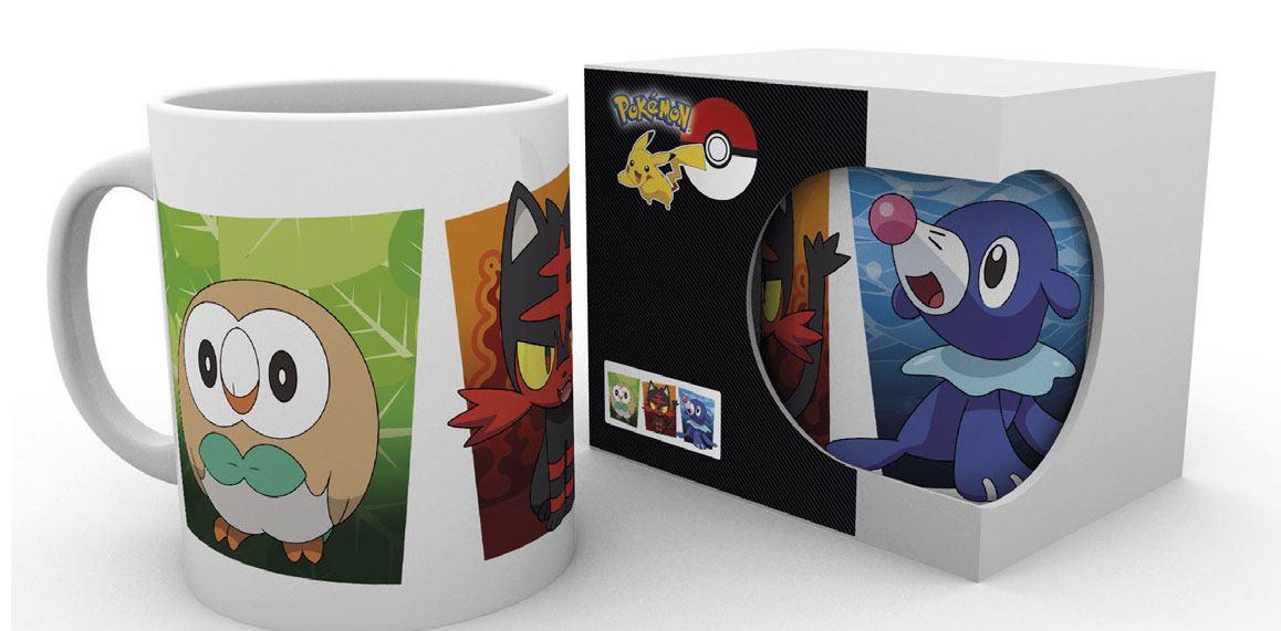 Pokemon Sun and Moon Mug Alola Partners