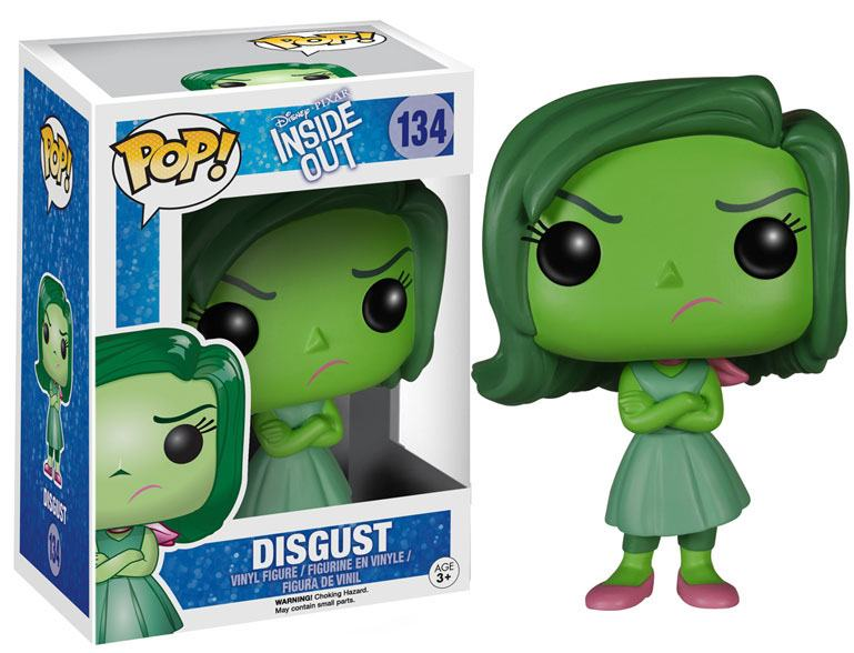 Inside Out POP! Vinyl Figure Disgust 9 cm