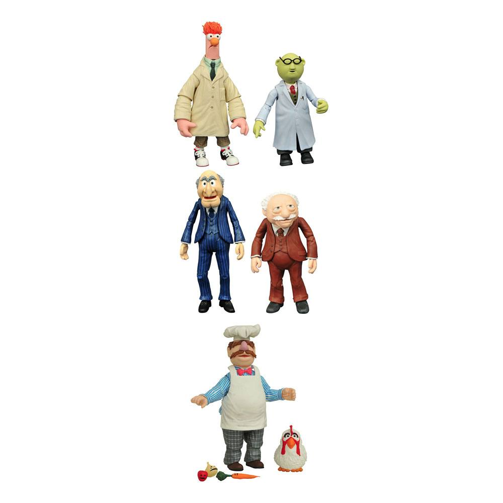 The Muppets Select Action Figures 13 cm 2-Packs Best Of Series 2 Assortment (6)
