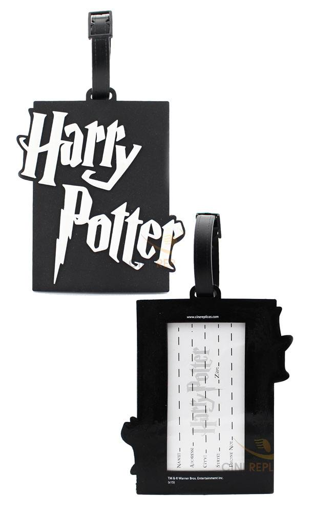Harry Potter Rubber Luggage Tag Logo