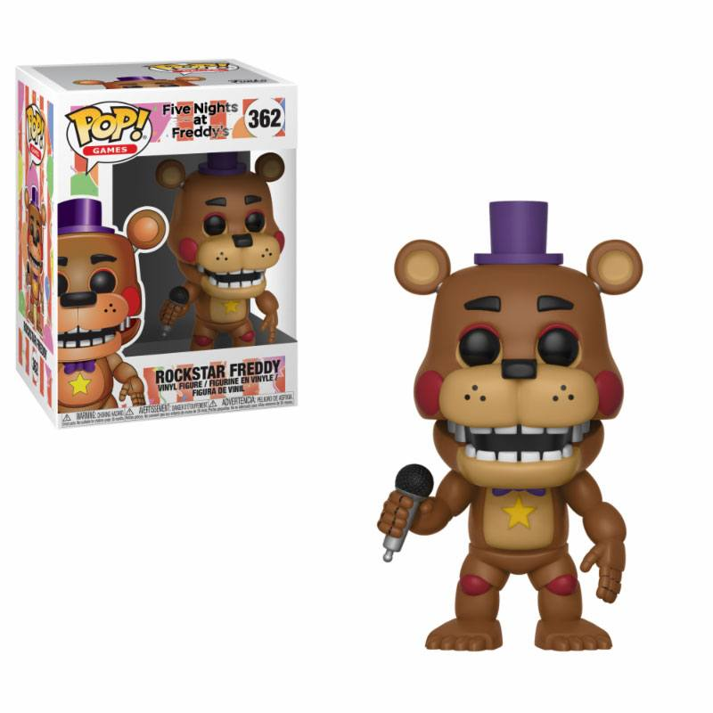 Five Nights at Freddy's Pizza Simulator POP! Games Vinyl Figure Rockstar Freddy 9 cm