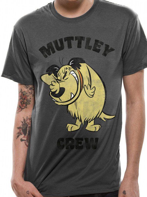 Wacky Races T-Shirt Muttley Crew Size XL