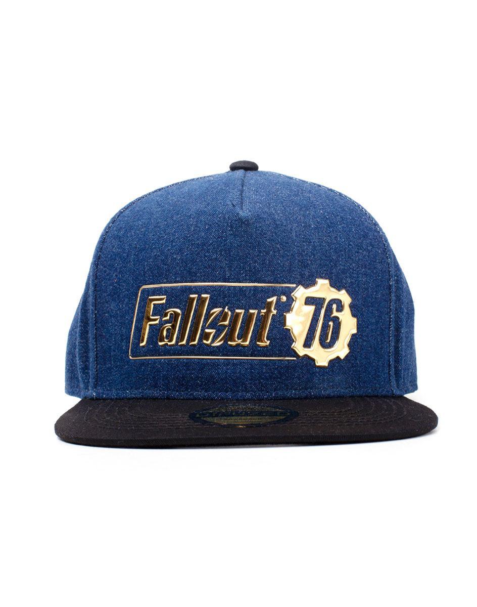 Fallout 76 Snapback Cap Logo Badge