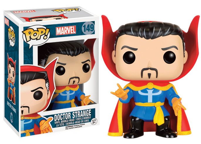 Marvel Comics POP! Vinyl Figure Doctor Strange 9 cm