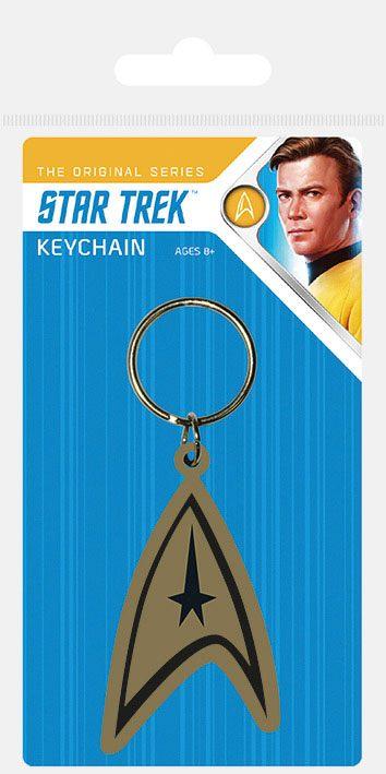Star Trek Rubber Keychains Insignia 6 cm Case (10)