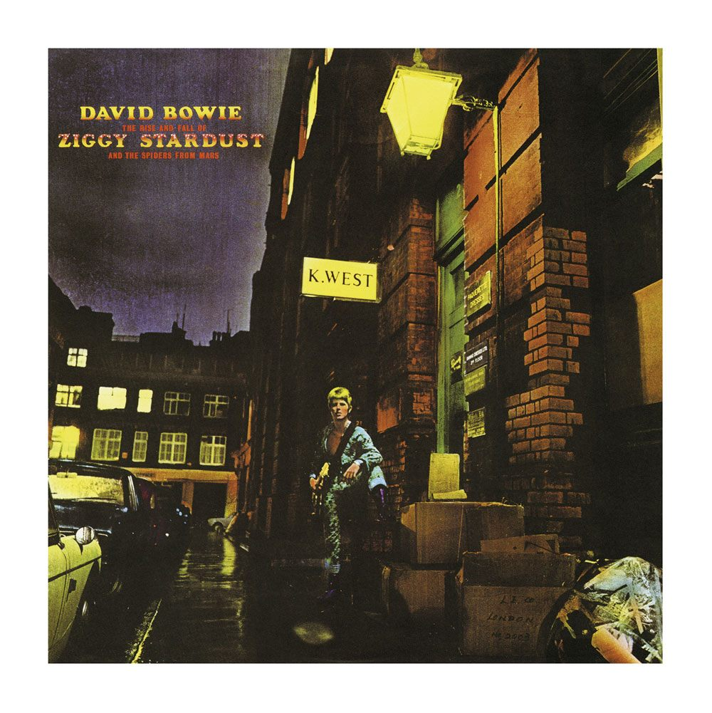 David Bowie Rock Saws Jigsaw Puzzle The Rise And Fall Of Ziggy Stardust (500 pieces)