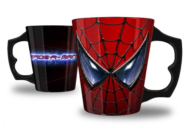 Spider-Man Mug Relief Face