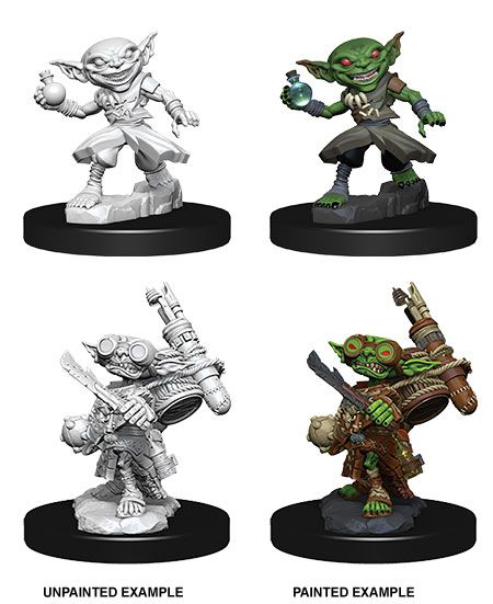 Pathfinder Battles Deep Cuts Unpainted Miniatures Male Goblin Alchemist Case (6)