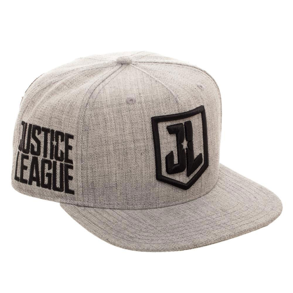 Justice League Snap Back Cap Movie Character Logos