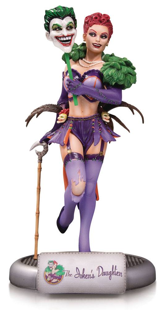 DC Comics Bombshells Statue The Joker's Daughter 25 cm