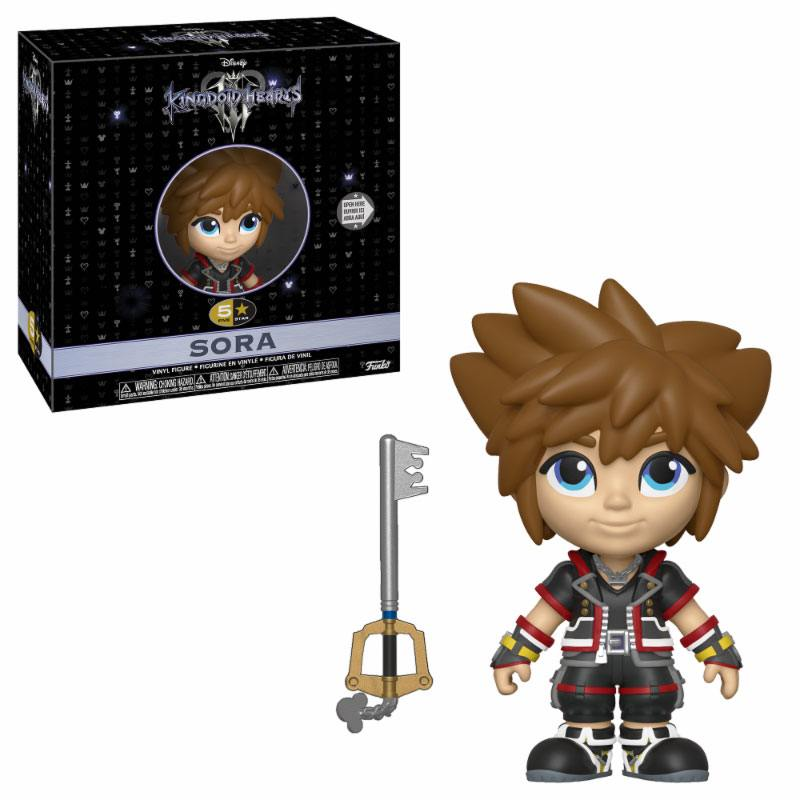 Kingdom Hearts 3 5-Star Vinyl Figure Sora 8 cm
