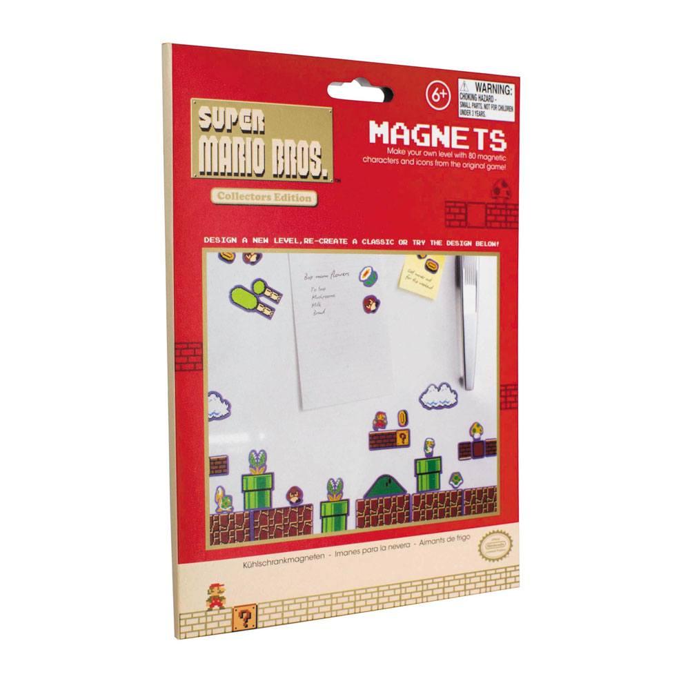 Super Mario Bros Magneten (set van 80)