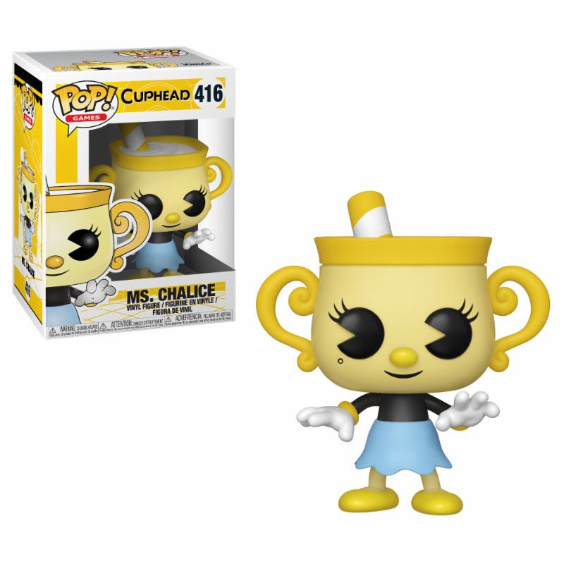Cuphead POP! Games Vinyl Figure Ms. Chalice 9 cm