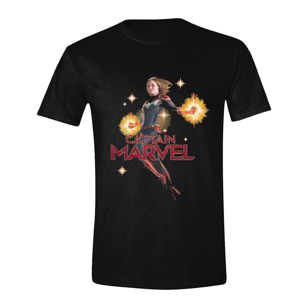 Captain Marvel T-Shirt Carol Danvers Size M
