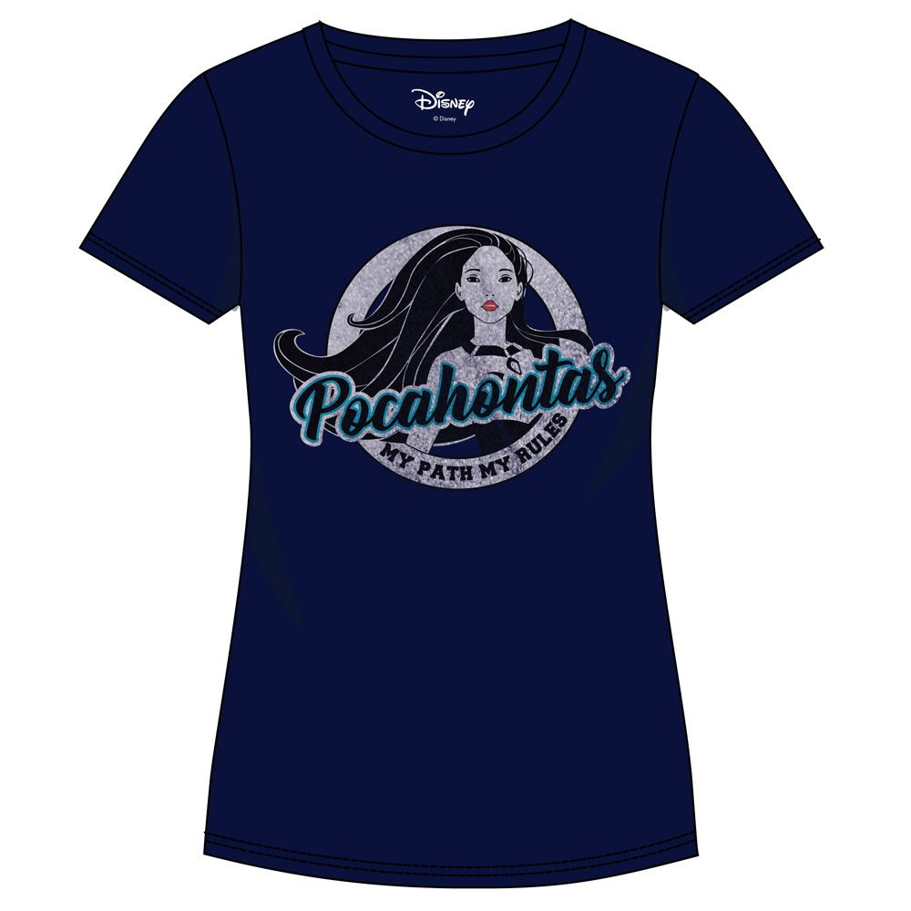 Pocahontas Ladies T-Shirt Disc Size M